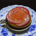 リンゴケーキの薔薇