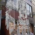 写真: ヒンメリの七夕飾り