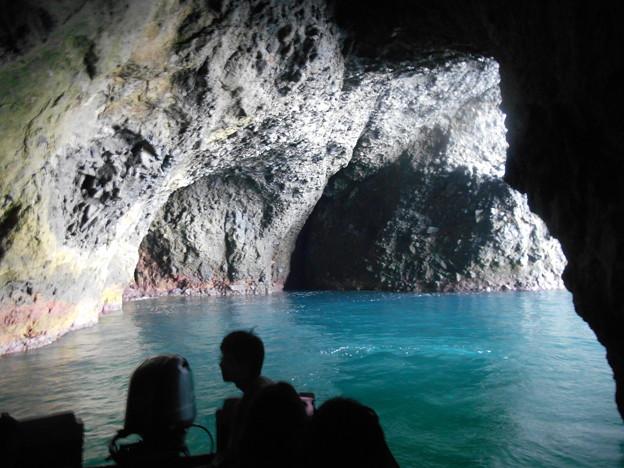 小樽青の洞窟