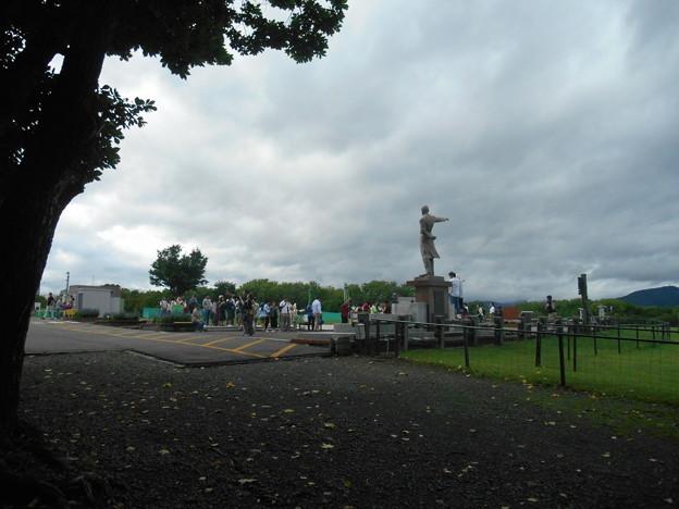 札幌クラーク像周辺