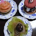 ケーキ3種