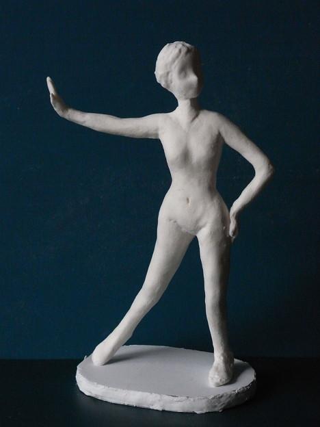 紙粘土裸婦7