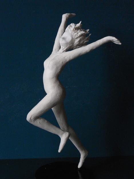紙粘土裸婦6