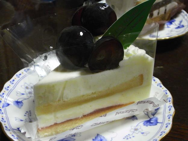 写真: 巨峰ケーキ