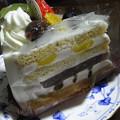 写真: フルーツケーキ