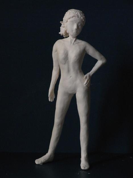 裸婦人形11 完成スーパーマンポーズ