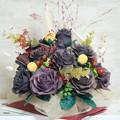 写真: クレイバラ101作目チョコレート色