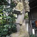 写真: 二ノ宮金次郎像住吉神社