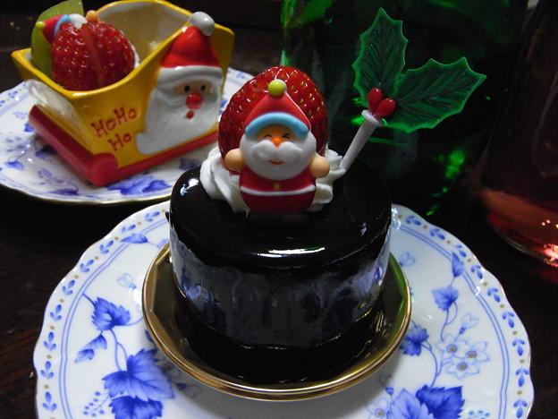 サンタさんケーキ1