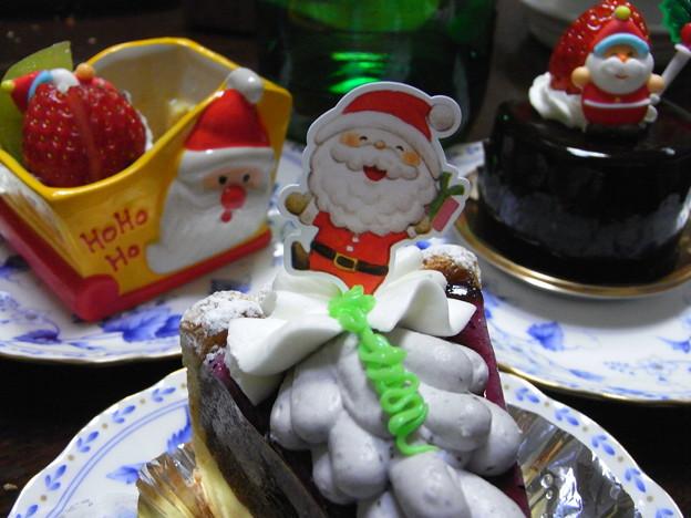 サンタさんケーキ2