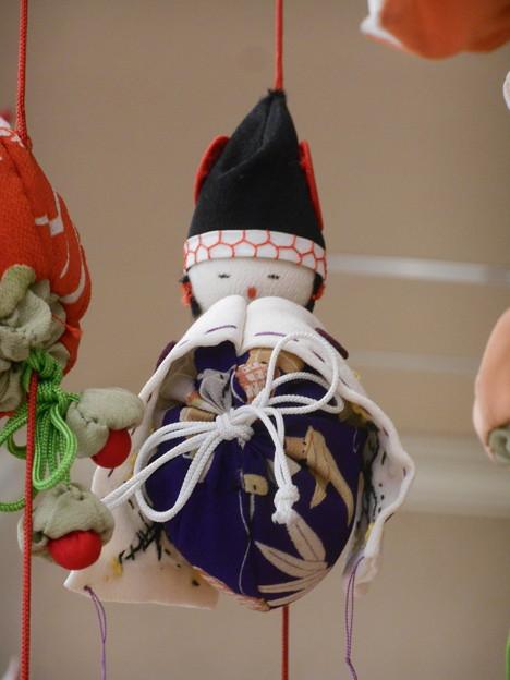 吊るし飾り 烏帽子雛
