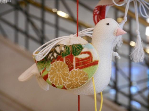 吊るし飾り 鳩