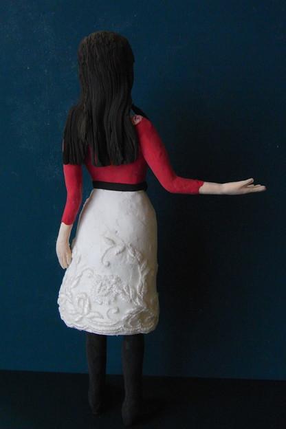 孫娘メモからの人形 後ろ
