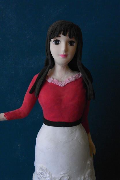 孫娘メモからの人形 上半身