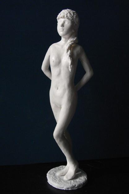 紙粘土人形裸婦24