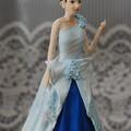 Photos: ブルードレス人形斜めから