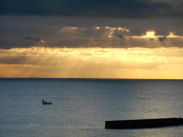 Photos: 海の光芒