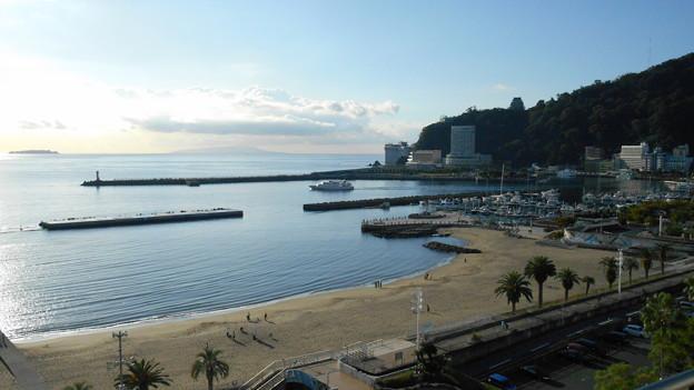 観光船の早朝出港