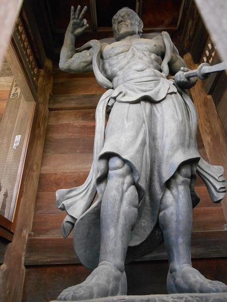 東京大仏 仁王像 吽像