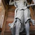 Photos: 東京大仏 仁王像 吽像