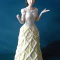 Photos: 紙粘土人形 映画ドレスから