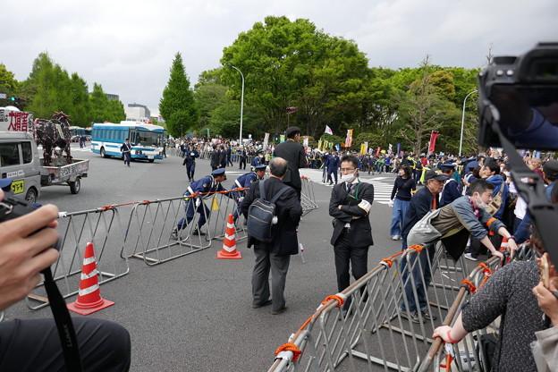 国会前大集合 国会正門前開放  20180414 (1)