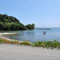 穴水町沖波から見る海2