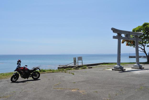 Photos: 羽根海岸の海