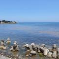 Photos: 五色ヶ浜近くから見る海