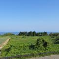 県境PA(帰り)の風景