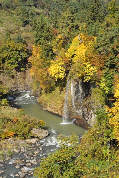 Photos: 名の知らない滝-DSC_4814