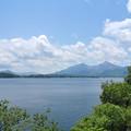 Photos: 桧原湖から見る裏磐梯