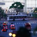 写真: いすゞプラザ ミニチュアワールド1※1/87サイズのジオラマです。