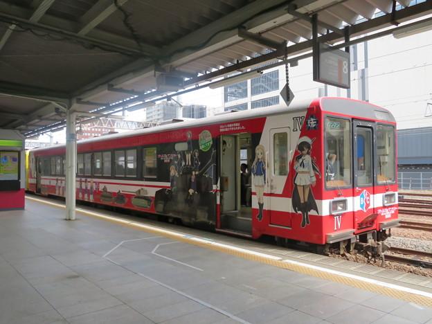 ガルパンラッピング列車4 鹿島臨海鉄道6000系