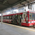 写真: ガルパンラッピング列車4 鹿島臨海鉄道6000系