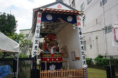 07 2014年 博多祇園山笠 恵比須流 舁き山 我者博多総鎮守 (2)