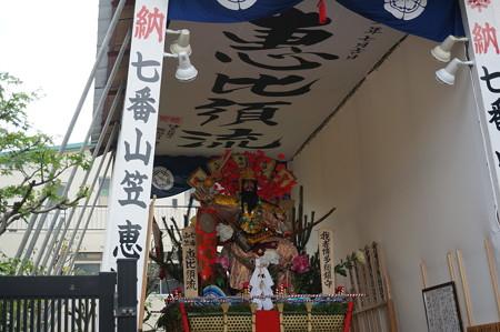 07 2014年 博多祇園山笠 恵比須流 舁き山 我者博多総鎮守 (3)