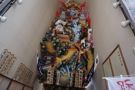 博多祇園山笠 2017年 飾り山 中洲流 本能寺の変 (8)