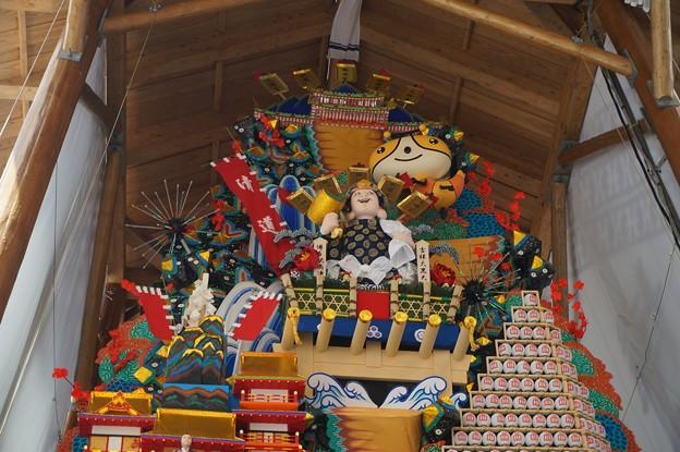 博多祇園山笠 2017年 博多駅商店連合会 飾り山 祝 九州五祭文化遺産登録 (10)