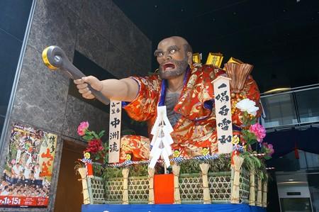 博多祇園山笠 2017年 舁き山 中洲流 一喝百雷如 (9)