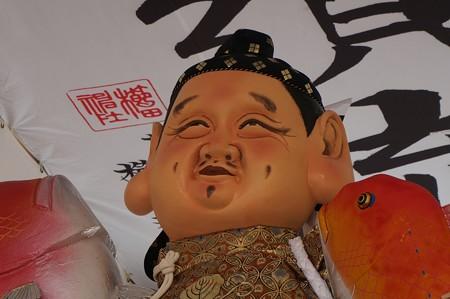 博多祇園山笠 2017年 舁き山 恵比須流 三級浪高魚化龍 (11)