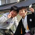 Photos: 従兄とお兄ちゃん
