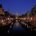 アムステルダムの夜景