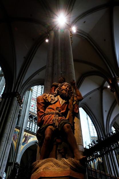 聖クリストフォロス像