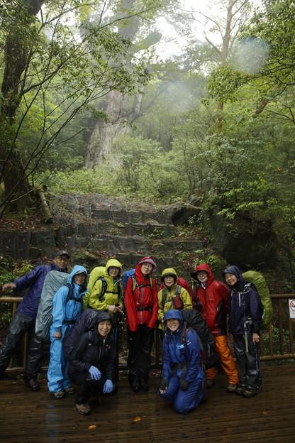 日本の山 ゆっくり登山 縄文杉から宮之浦岳 縄文杉に逢いました #山へ行こうよ。
