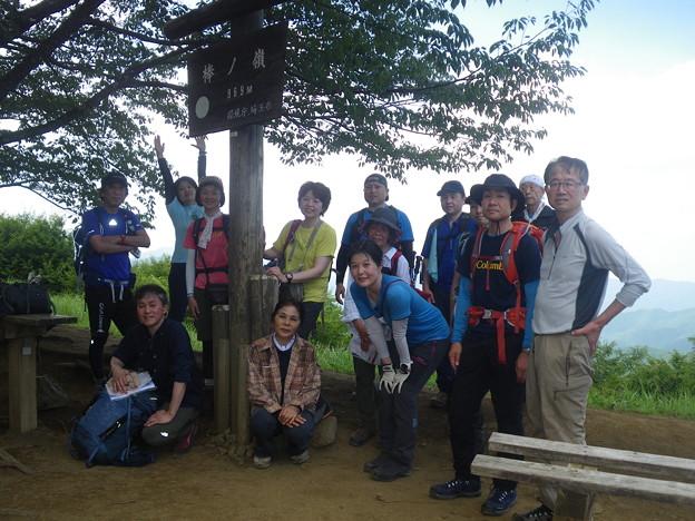 写真: 日本の山 地図読み入門 奥武蔵 棒ノ嶺 棒の嶺山頂