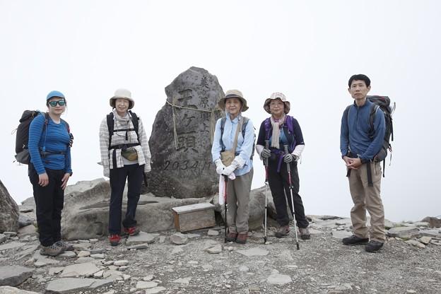 日本の山 美ヶ原ロングトレイル 最高地点の王ヶ頭