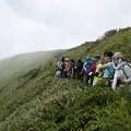 日本の山 山の天気入門 加賀白山 観光新道から下山時の空見