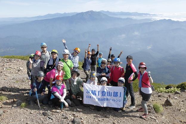 日本の山 次晴登山部 御嶽山3日間 継子岳山頂です #山へ行こうよ。 #次晴登山部 チャレンジ百名山 #荻原次晴