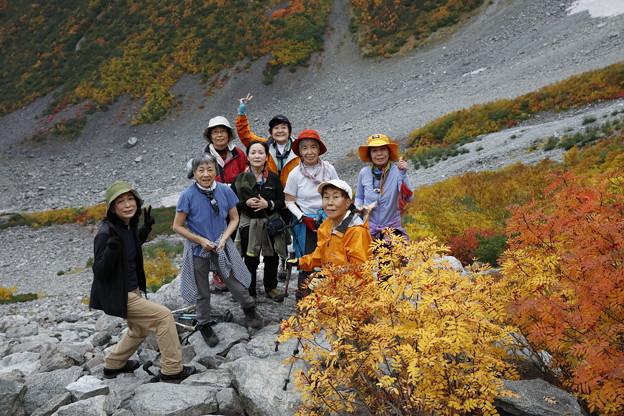 日本の山 紅葉の山 穂高・涸沢カール 涸沢パノラマを満喫です! #山へ行こうよ。 #涸沢 #紅葉